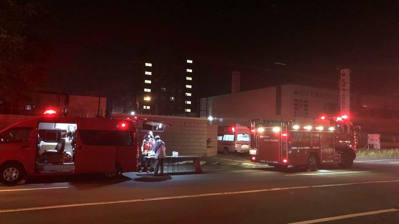 【札幌市西区】八軒7条西8丁目で火災が発生しました