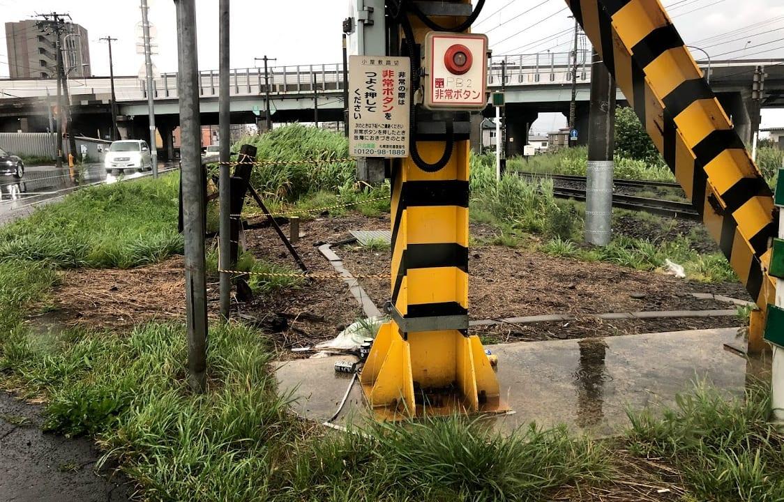 【札幌市西区】発寒~発寒中央間の踏切事故の現場の今は・・。悲しい事故を繰り返さないために(2019/6/15発生)