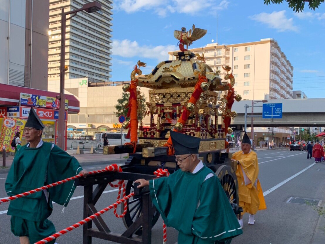 琴似神社 御神輿