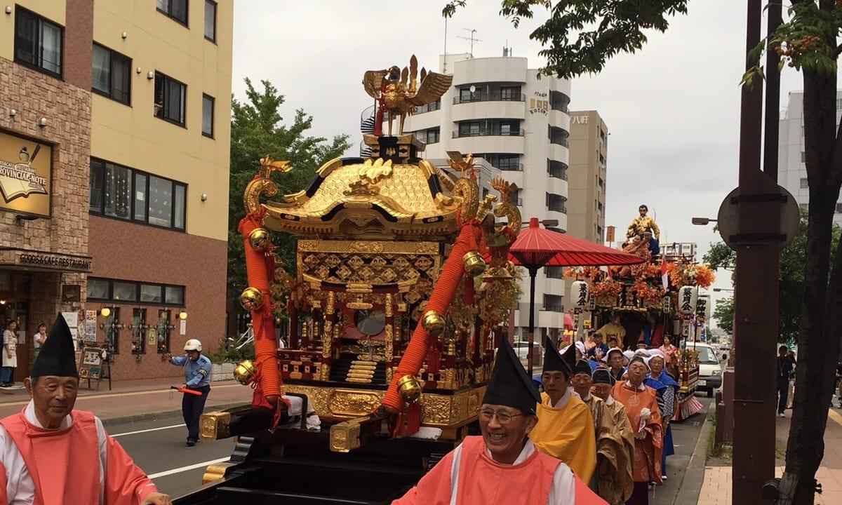 琴似神社 秋のおまつり
