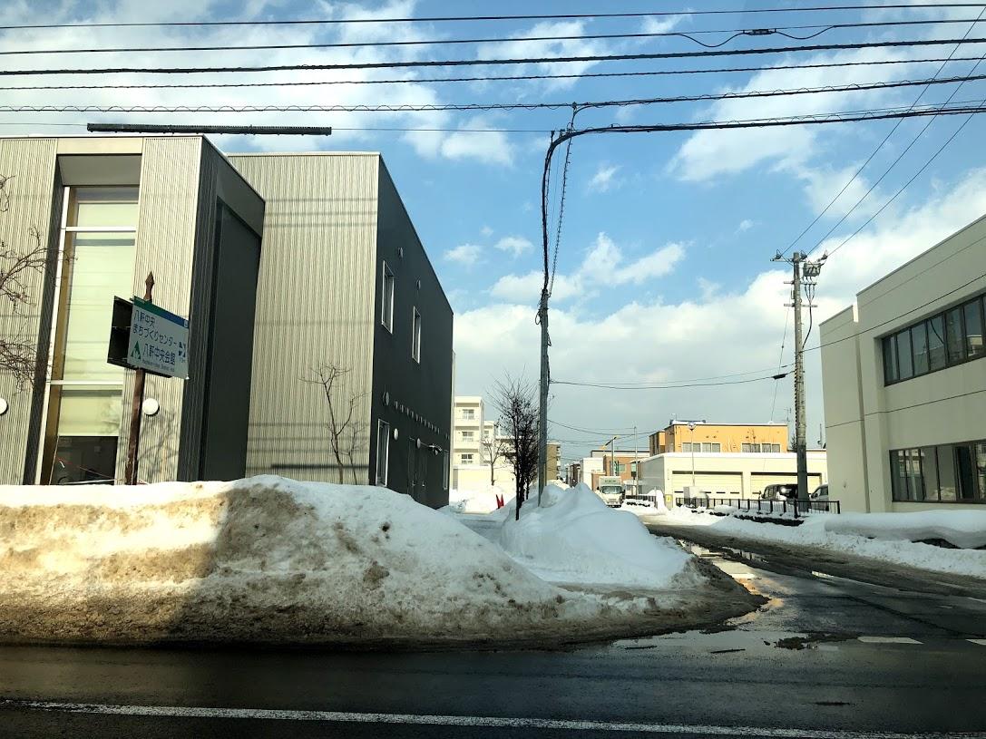 札幌 雪解け 雪