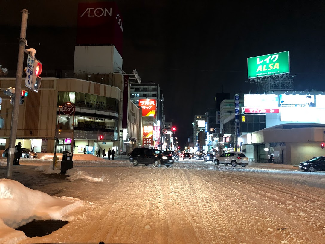 札幌市西区手稲区 大雪