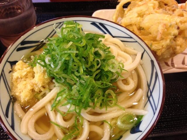 丸亀製麺 テイクアウト