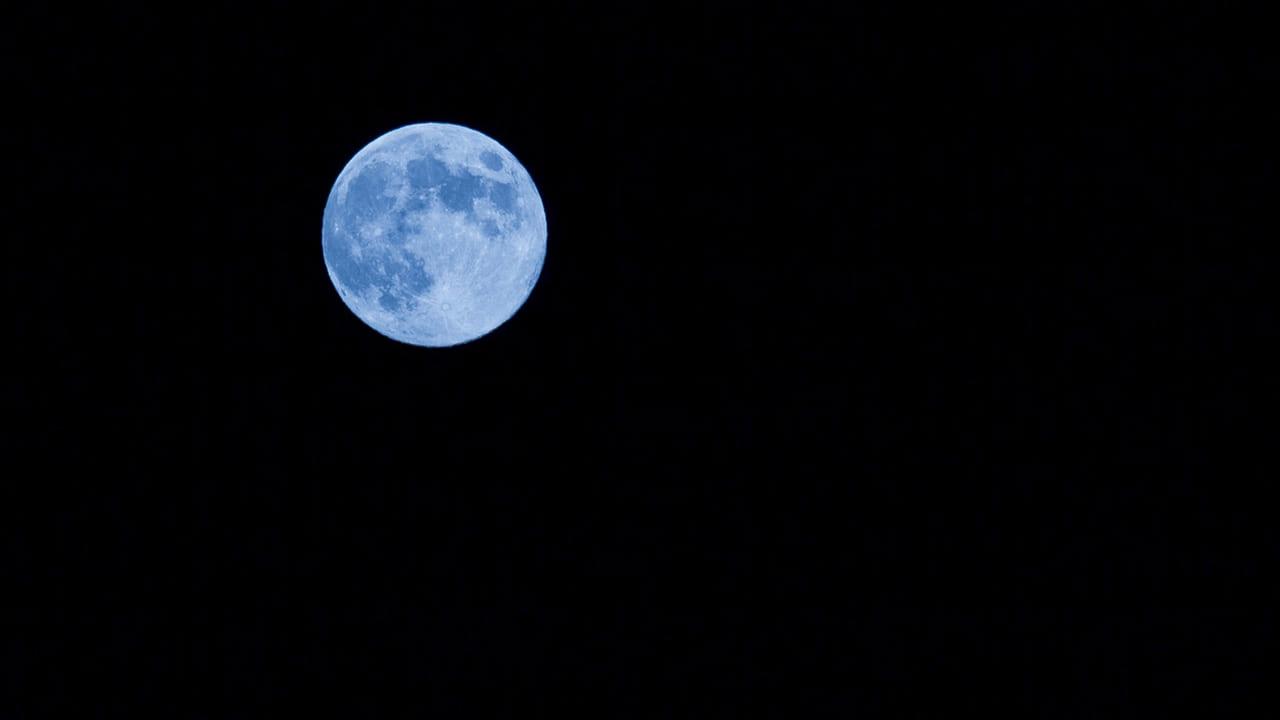 ハロウィン満月 ブルームーン